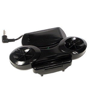 Stereo Amplified Speakers for PSP (Black)