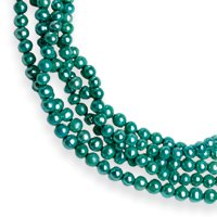 """5.5-6mm Freshwater Cultured Blue Pearl Knotted Strand Necklace - QH2292-100"""""""