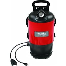 Sanitaire SC412A 12 Amp Commercial Back Pack Vacuum Cleaner