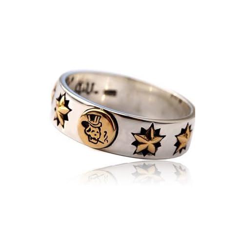 シルバーリング メンズ リング 指輪 スカル OLD SCHOOL オールドスクール タトゥー r0650 【23号】