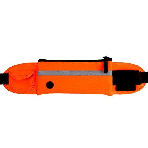 ALAIX Marsupio Sportivo Riflettente Running Cintura per Corsa Donne Uomo per phone