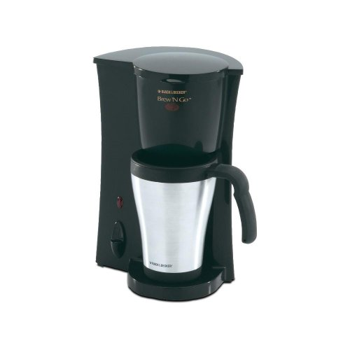 Black And Decker Single Serve Coffee Makers