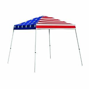 10x10 slant legant leg pop up canopy american pride cover black roller bag sports. Black Bedroom Furniture Sets. Home Design Ideas