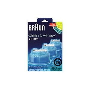 braun clean and renew 3 pack cartridge refill. Black Bedroom Furniture Sets. Home Design Ideas