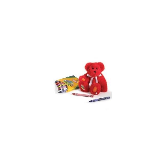 Boyds Bears Crayola Red Plush Gfit Set