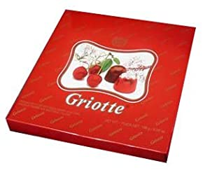 Griotte, (kras) 358g, Chocolates Filled with Sour Cherry in alcohol