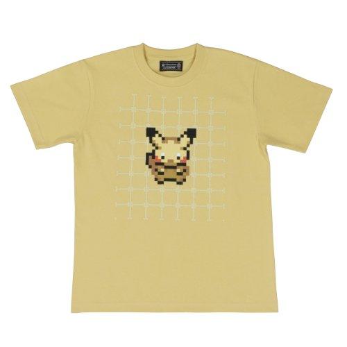 ポケモンセンターオリジナル Tシャツ ゲームドット ピカチュウ M