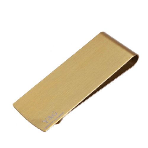 Gold money clips. Fashion stainless steel Money Clip Wallet gift ideas man MC1018