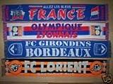OLYMPIQUE LYONNAIS 54 x 9 Inch Lyon SOCCER SCARF Football NEW e6
