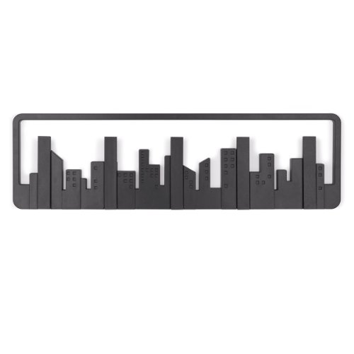 Umbra Skyline Wall Hook, Black (Cool Hat Racks compare prices)