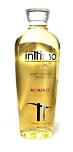 Inttimo Aromatherapy Massage Body Oil Romance 8oz