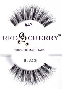 Red Cherry False Eye Lashes #43 (6 Pack)