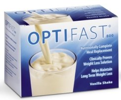 OPTIFAST 800 Vanilla Shake Powder 12 Cartons (84 Packets)