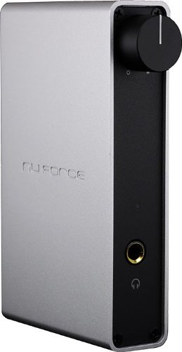 Nuforce Icon Hd Silver (High Performance Headphone Amp And Usb Dac)