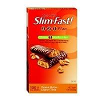 Diet Bar - 100 Calorie, Peanut Butter Crunch Time, 24-Count - ダイエット バー ピーナツバターバー 100カロリ - 24枚入り (海外直送品)