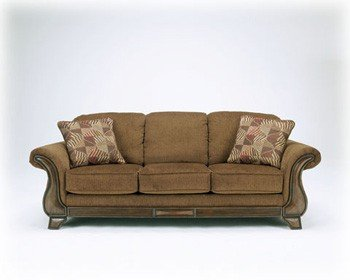 Signature Design by Ashley Montgomery Mocha Sofa
