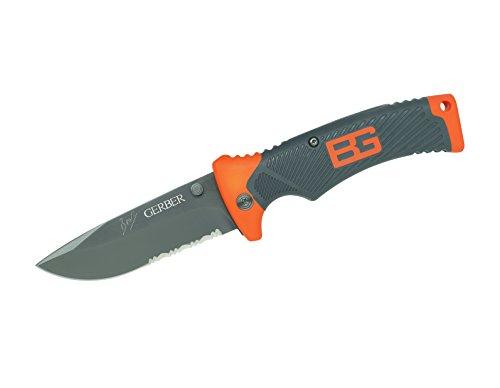 Gerber Bear Grylls Folding Sheath Knife, Serrated Edge [31-000752] (Samurai Edge compare prices)