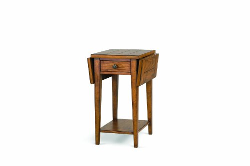 Cheap Magnussen Mackenzie Wood Drop Leaf End Table (T1367-14)