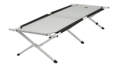 Easy Camp Folding Bed, schwarz/grau, 480008