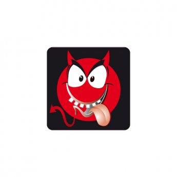 Patch 28x28mm Emoticon Devil