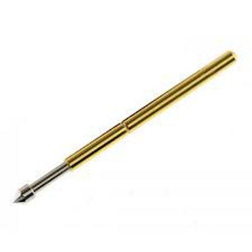 50 Pcs P160-E2 Test Probe Metal Golden Yellow Detector Instrument To Detect The Needle Pogo Pin