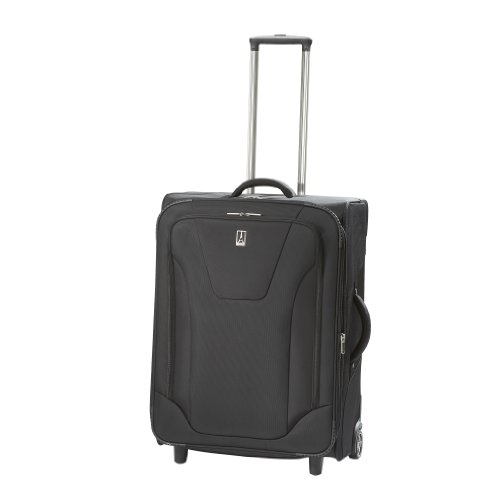 Travelpro Luggage Maxlite 2 25″ Expandable Rollaboard, Black, One Size best offers