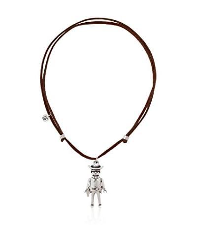 Laf Playmobil Collar Intrépido Marrón Oscuro Única
