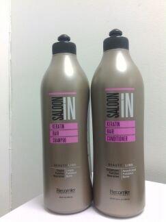 Saloon in Keratin Hair Shampoo & Conditioner Set (33.8 oz)