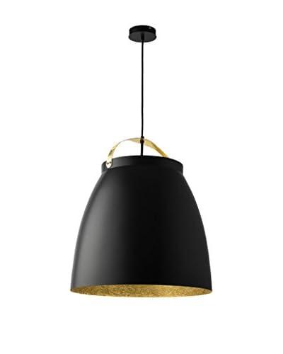 Lightshape Lámpara De Suspensión Malia L Negro/Oro