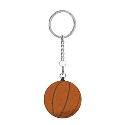 Pintoo - A1367 - Basketball - 24 Piece Plastic KeyChain Puzzle - 1