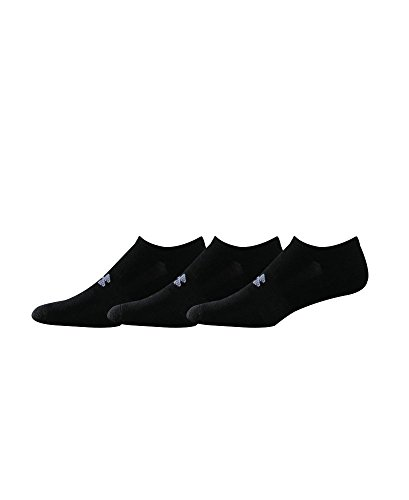 Under Armour HeatGear Trainer SoLo Socks 3-Pack Medium Black