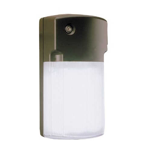 All Pro Outdoor Security FW26PC 26-Watt Fluorescent Wall Pack with Integral Photo Control, Bronze