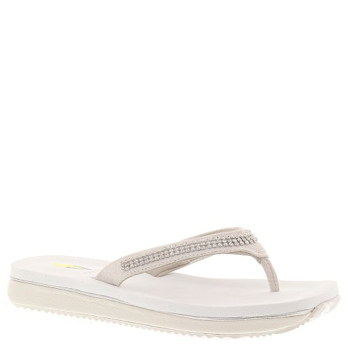 Volatile Women'S Riches Wedge Sandal,White,9 B Us front-475055