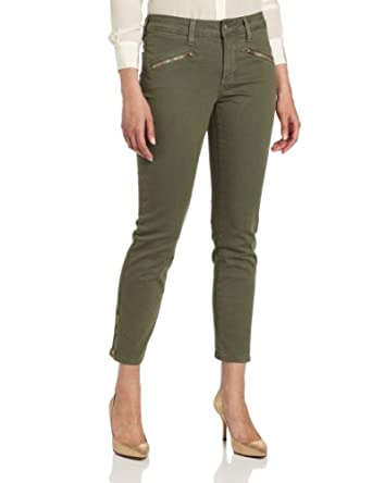 NYDJ Women's Alina Colored Denim Legging Jean, Rosemary, 0
