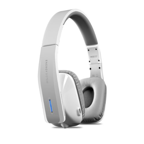 Energy SistemTM Bluetooth and NFC stereo headphones Energy Wireless BT7 NFC White (mic and line-in) Black Friday & Cyber Monday 2014