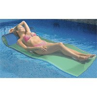 Ocean Blue Foam Pool Lounge Blue/Teal -( 950008 , Ocean Blue )