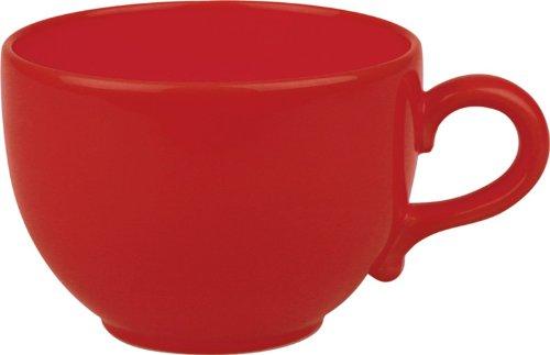 Waechtersbach Fun Factory Ii Red Jumbo Cups, Set Of 4