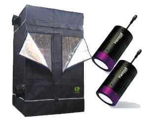 Growlab Indoor Grow Tent With Led Light Kit