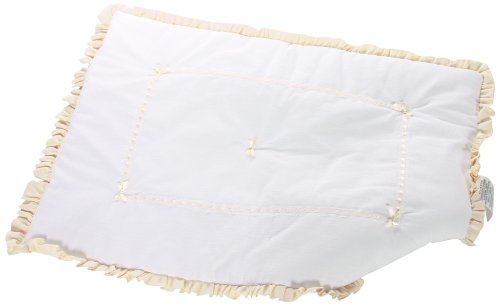 Baby Doll Unique Crib Comforter, Ivory