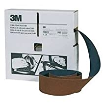 "3M UTILITY CLOTH ROLL 314D 1""X50YD P320 WEIGHT"