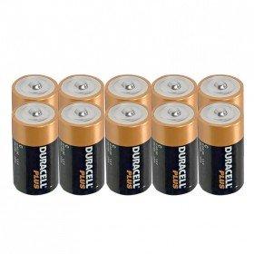Duracell Plus MN1300 Piles alcalines - D / LR20 / Mono - 10 pièces