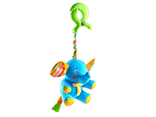 Tiny Love Tiny Smart Rattle, Blue Elephant - 1