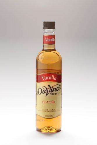 Da Vinci Classic Vanilla Syrup (25oz Plastic Bottle)