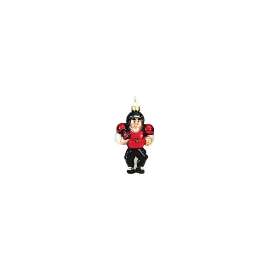 Texas Tech Red Raiders NCAA Glass Player Ornament (4