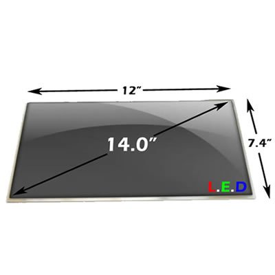 "Aceraspire 4339-2618 Laptop Lcd Screen Replacement 14.0"" Wxga Hd Led"