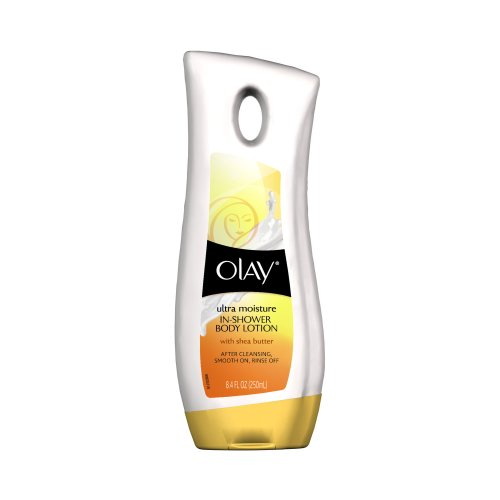 Olay Ultra Moisture In-Shower Body Lotion With Shea Butter 8.4 Fl Oz front-489455