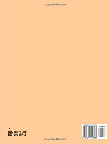 Hui Gong Ge Paper Notebook for Chinese Writing Practice, 120 Pages, Peach Cover: 8