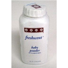 Freshscent Baby Powder - with Cornstarch (case of 96)