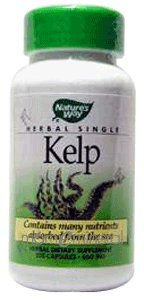Kelp 660 mg 100 Capsules by Nature's Way