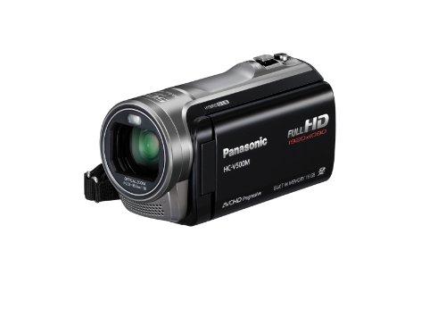 Panasonic HC-V500M Full HD SD Camcorder with 16GB Internal Memory (Black)